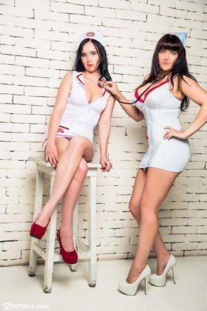 Проститутка Альбина и Римма с секс услугами в Москве