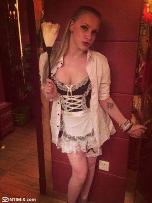 Проститутка Наташа с выездом по Москве рядом с метро Киевская в возрасте 23